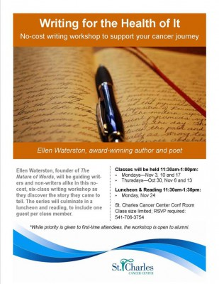 Writing Workshop For Cancer Survivors